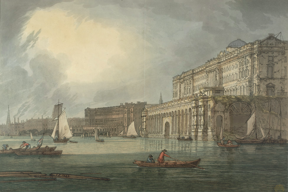 Somerset House, 1791